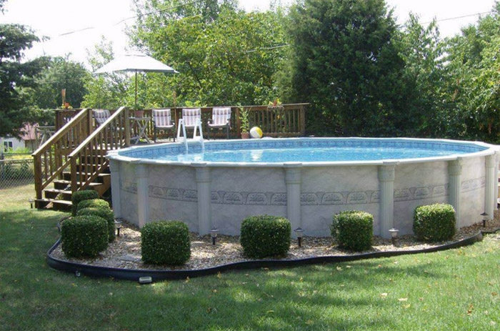 Above Ground Pools Blue Dolphin Pools Amp Spas