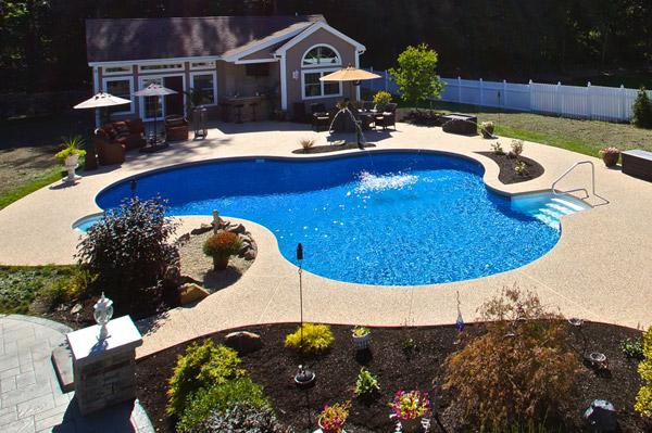 Inground Pools Blue Dolphin Pools Amp Spas