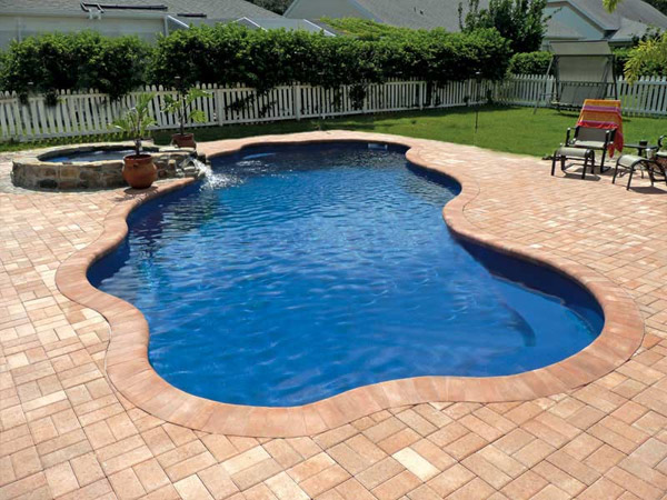 Inground pools blue dolphin pools spas for Poole dolphin swimming pool prices
